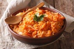 Free Greek Lahanorizo Rice With Cabbage Close Up In A Bowl. Horizontal Royalty Free Stock Photo - 68569785