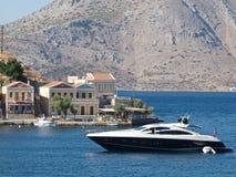 Greek Landscape. Of Symi Island stock photos