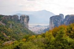 Greek landscape Stock Photos