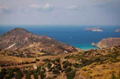 Greek landscape Stock Photography