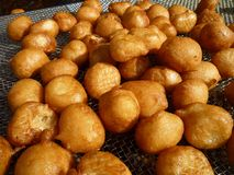 Greek Loukoumades Pastry Royalty Free Stock Photos