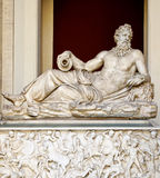 Greek marble sculpture Stock Photography
