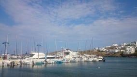 Greek marina Stock Photography