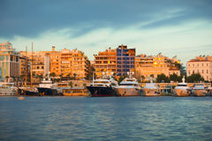 Greek Marina Stock Photography