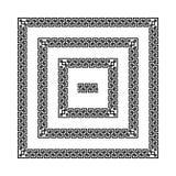 Greek meander frames,  Stock Photos
