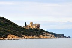 Greek Monastery Royalty Free Stock Photos