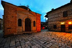 Greek Monastery Royalty Free Stock Image
