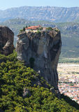 Greek monastery at Meteora Stock Photography