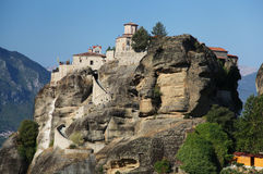 Greek monastery at Meteora Royalty Free Stock Photography