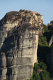 Greek monastery at Meteora Stock Image