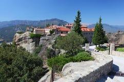 Greek monastery at Meteora Stock Images