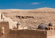 Greek Monastery in Palestine Stock Photography