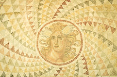Greek mosaic in Athens, Greece Stock Photography