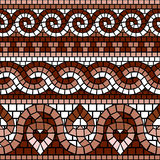 Greek mosaic Royalty Free Stock Photography