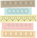 Greek motif Stock Images