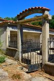 Greek Mountain House Royalty Free Stock Photography