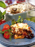 Greek moussaka Royalty Free Stock Image