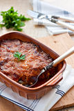 Greek moussaka Stock Photo