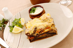 Greek Moussaka Stock Image