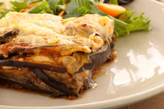 Greek Moussaka Royalty Free Stock Images