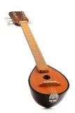 Greek musical instrument bouzouki on white Royalty Free Stock Images