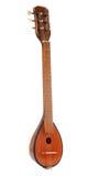 Greek musical instrument bouzouki on white Stock Photos