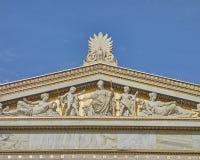 Greek mythology gods and deities statues Royalty Free Stock Images