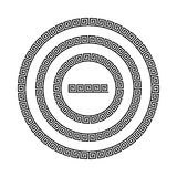 Greek national antique round pattern, . Stock Images