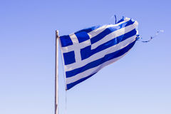 Greek National Flag Royalty Free Stock Images