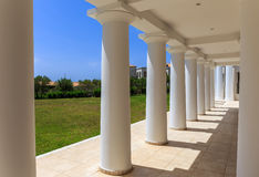 Greek neoclassical architecture building Stock Image