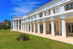 Greek neoclassical architecture building Stock Images