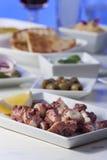 Greek octopus salad Stock Photos