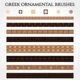 Greek Ornament Border Stock Image