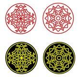 Greek ornaments vector illustration
