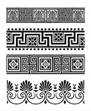 Greek ornaments vector illustration