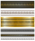 Greek ornaments for Your projects. Royalty Free Stock Photo