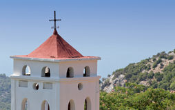 Greek orthodox belfry Stock Photography
