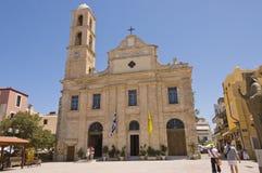 Greek orthodox in Chania Royalty Free Stock Photo