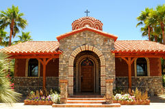 Greek Orthodox Chapel Royalty Free Stock Photos