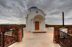 Greek Orthodox Chapel Royalty Free Stock Photography