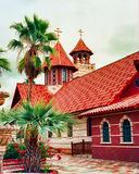 Greek Orthodox Chapel Stock Photos