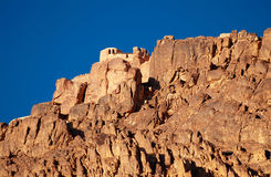Greek orthodox chapel on mount Sinai Royalty Free Stock Photography
