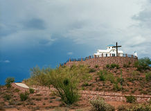 Greek orthodox chapel Stock Photography