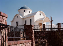 Greek orthodox chapel Royalty Free Stock Image
