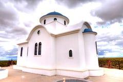 Greek orthodox chapel Stock Image