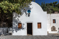 Greek orthodox chapel Royalty Free Stock Images