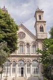 Greek Orthodox Christian church of Saint Triada near Taxim stree Stock Images