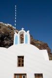 Greek orthodox church. Ia, Santorini (Greek Islands Royalty Free Stock Photos