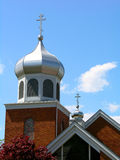 Greek Orthodox Church. Greek Orthodox Churc Roof Royalty Free Stock Photography