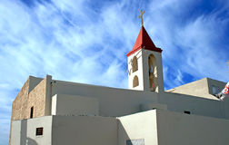 Greek Orthodox Church in Acre.  Royalty Free Stock Photos